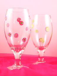 painted wine glasses a simple how to