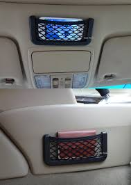 How To Decorate My Car Interior New Auto Car Vehicle Storage Nets Resilient String Bag Phone