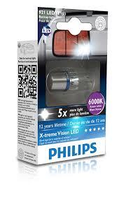 amazon led auto lights amazon com philips 921 t16 retrofit x tremevision led exterior