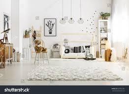 scandinavian style modern scandinavian style decor cozy baby stock photo 637052335