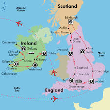 Liverpool England Map by 17 Day England Scotland U0026 Ireland Visit Bath Dublin Edinburgh