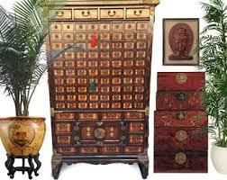 Antique German Display Cabinet Vintage Apothecary Cabinet Etsy