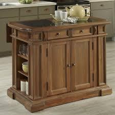 granite topped kitchen island august grove collette kitchen island with granite top reviews