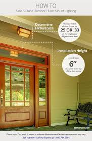 install outdoor garage lights outdoor lighting ideas tips add curb appeal with front door