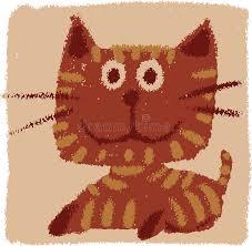 imagenes groseras de gatos gato grosero ilustración del vector ilustración de infantil 9930971