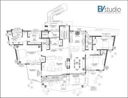modern home floor plan snyder mountain road mountain modern home evstudio architect