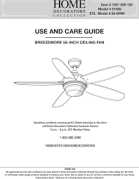 56brm 1 56 inch breezemore user manual part 1 king of fans inc