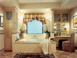 Bathroom Window Valance by Adding Color And Pattern With Window Valances Hgtv