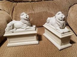 new york library bookends bookends replicas of the new york library lions ebay