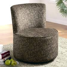 cool round swivel chair for two oversized round swivel lounge chair swirly design fabric accent seating cool round swivel chair