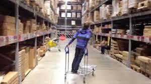 Ikea Cart by Ikea Cart Riding Youtube