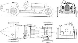 bugatti drawing 1931 bugatti type 51 formula blueprints free outlines