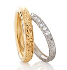 women and mens wedding rings made in the uk
