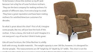 best small recliners for short people youtube