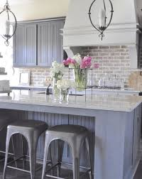 pictures of kitchen backsplashes 30 practical and really stylish brick kitchen backsplashes