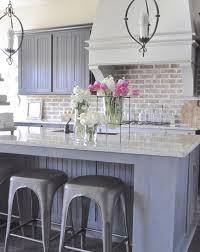 brick kitchen backsplash 30 practical and really stylish brick kitchen backsplashes