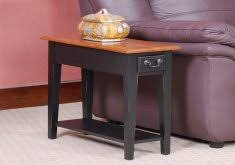 hardwood 10 inch chairside end table 10 inch end table home design photo gallery