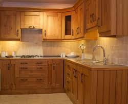 kitchen rustic wood kitchen cabinet with metal hardware design
