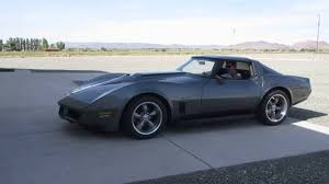 corvette restomod dale walkers 1980 corvette resto mod start up 2