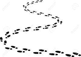 2 878 footprint outline stock illustrations cliparts and royalty