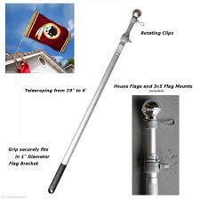 Wrought Iron Flag Pole Holder Garden Flag Pole Home Outdoor Decoration