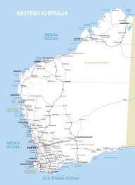 Wa Map Map Fremantle Western Australia Australia Maps And Directions