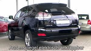 lexus rx400h blue lexus rx 400h executive 2007 schwarz metallic 027210 www autohaus