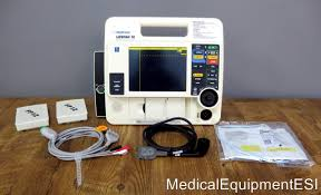 lifepak 12 biphasic 3 lead ecg pacing analyze ecg cable 2