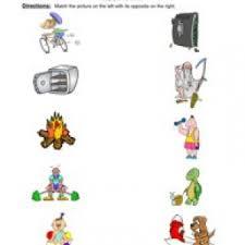 opposites worksheets have fun teaching