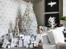 white tree decorating ideas hgtv