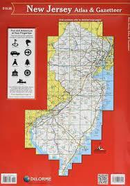 New Jersey Zip Code Map by New Jersey Atlas U0026 Gazetteer Delorme Null 9780899333243 Amazon