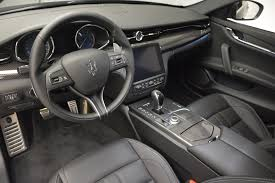 maserati interior 2017 maserati quattroporte s q4 gransport stock m1774 for sale
