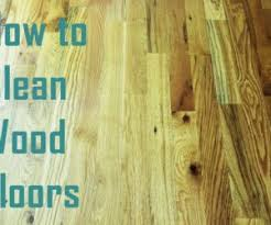 Can I Use Vinegar To Clean Hardwood Floors - how to clean laminate wood floors without doing damage