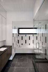 Small Black And White Tile Bathroom Black And White Bathroom Tiles In A Small Bathroom White Washbasin