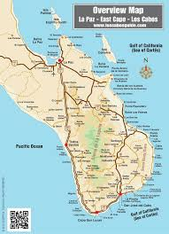 Southern Mexico Map by Overview Map Of Southern Baja Los Cabos Guide