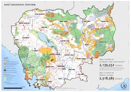 Map Of Cambodia Cambodia U0027s Forests Are Disappearing Image Of The Day