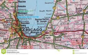 Topical Map Of United States by Topographical Map Of The Usa Chicago Cleveland Stock Footage