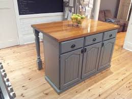 how to make a kitchen island using cabinets diy created this by using the bottom half of the kitchen