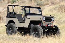 willys jeep offroad iconic willys jeep reborn as bad icon cj3b keels and wheels