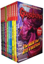 r l stine goosebumps horrorland series collection 10 books set