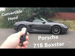 porsche boxster top 2016 porsche 718 boxster one touch open convertible top