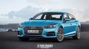 convertible audi 2016 2017 audi a5 sportback and convertible will look like this