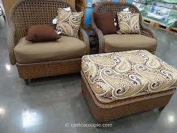 Costco Patio Furniture Collections - monroe 3 piece woven cuddle set