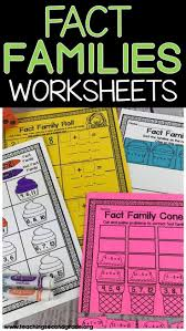 Fact Family Worksheets 7264 Best Second Grade Inspiration Images On Pinterest Second