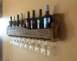 wall mounted wine racks completed glass holder home decor ideas