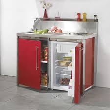 meuble lavabo cuisine petit meuble sous évier inox cuisine 2 portes 100 120 espace aubade