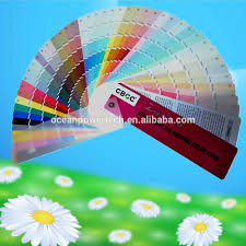 pantone color code color card fandeck color chart shade with exquisite printing