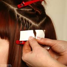 hairstyles for bonded extentions step by step to cut hair into a graduated box bob