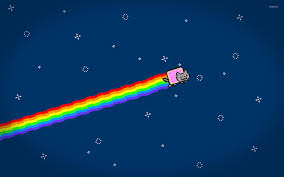 Nyan Cat Meme - nyan cat flying wallpaper meme wallpapers 47320