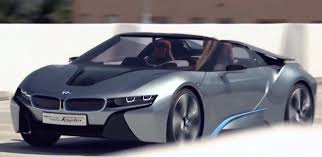 bmw electric car new bmw i8 spyder 2014 in detail driving commercial hybrid